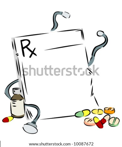 Prescription - Vector Background