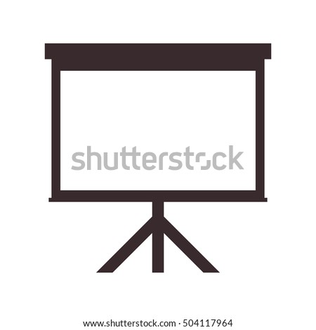 presentation board icon