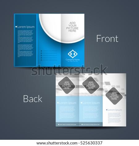 3 fold brochures