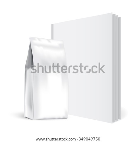 Presentation of the package of coffee - stock vector