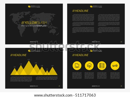 Presentation powerpoint vector template infographic elements stock presentation powerpoint vector template with infographic elements set of a4 size pages of powerpoint presentation toneelgroepblik Images