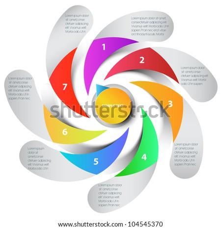 presentation, vector - stock vector