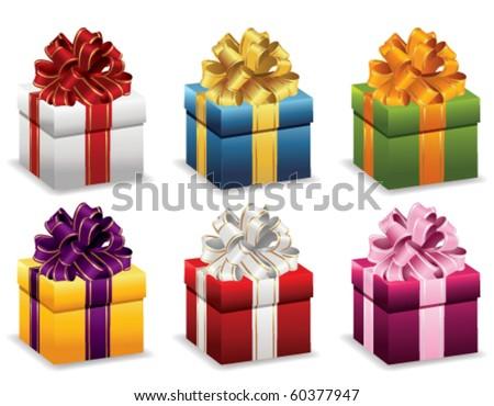 Presents - stock vector