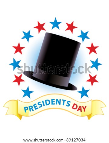Presidents Day (Lincoln) - stock vector