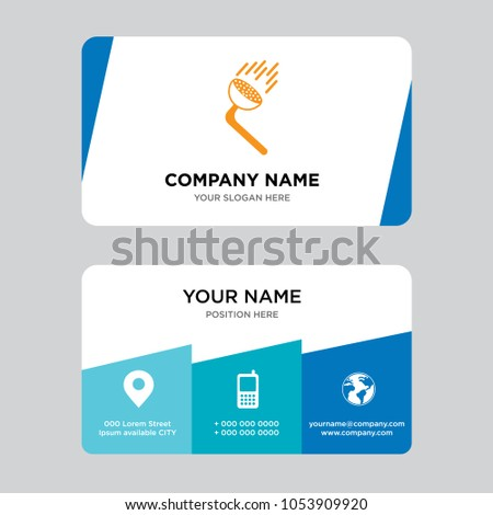Pressure washing business card design template stock vector hd pressure washing business card design template visiting for your company modern creative and clean flashek Gallery