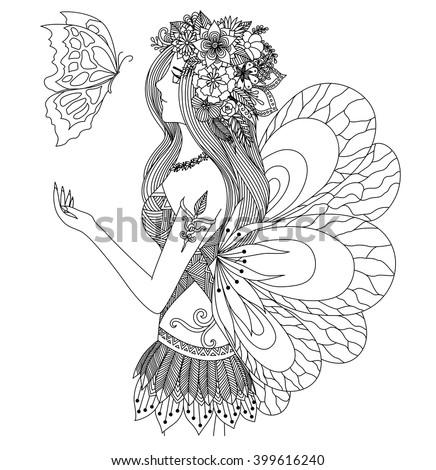 fairy mandala coloring pages - water mandala stock vectors vector clip art shutterstock