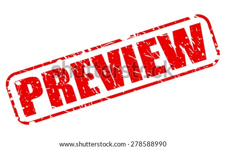Preview red stamp text on white - stock vector