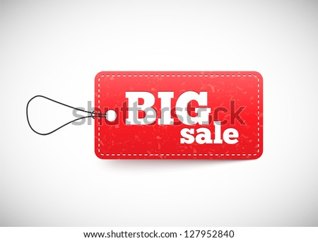 Price tag - stock vector