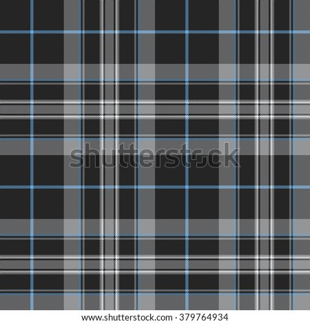 Pride of scotland platinum kilt tartan texture seamless pattern .Vector illustration. EPS 10. No transparency. No gradients. - stock vector