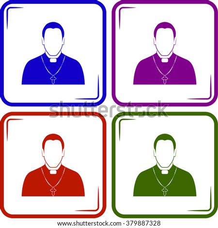 Priest father icon