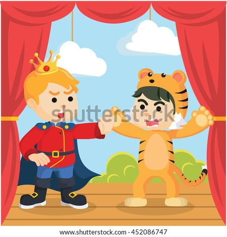 prince surprised on stage by boy tiger
