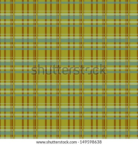 Print.Pattern with brown,blue and green stripes,vector.Seamless pattern.Vector.