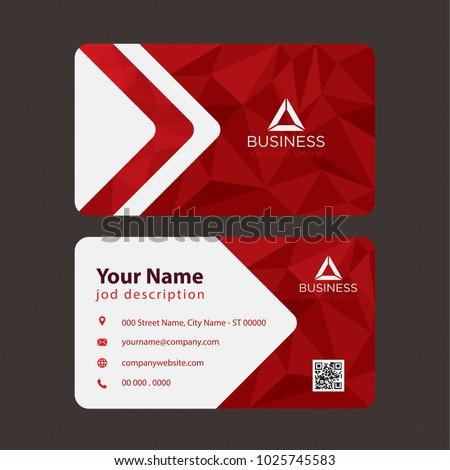 Print ready professional business card multi stock vector royalty print ready professional business card for multi purpose reheart Images