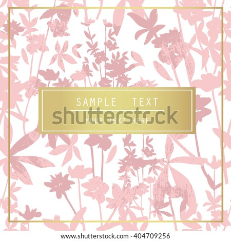 Printable Spring Wall Art Floral Pattern Stock Vector 404709256 ...