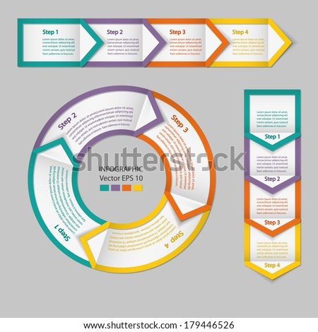 Process chart module infographics stock vector 179446526 shutterstock process chart module infographics ccuart Image collections