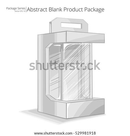 Product Package. Vector, Illustration of a Product Package. Sketch style. Packing series.