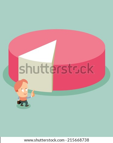 Product Segmentation is important. Flat vector illustration - stock vector
