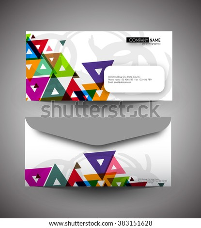 Professional Blank stationery and corporate identity templates. - stock vector