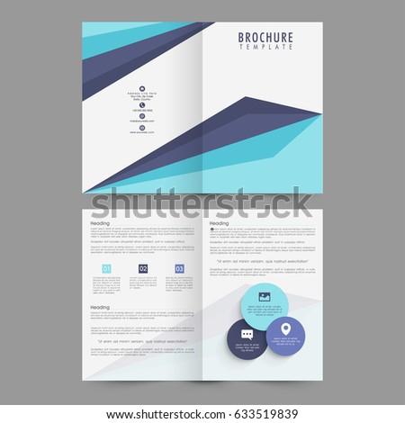 Professional Brochure Template Design Your Business Stock Vector - Professional brochure templates