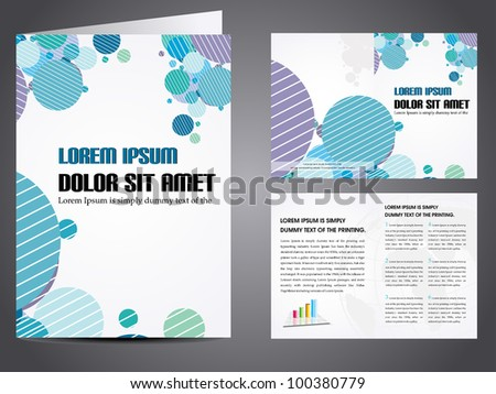 Professional business catalog template corporate brochure stock professional business catalog template or corporate brochure design with inner pages for document publishing accmission Image collections