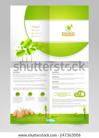 2 page flyer template mersn proforum co
