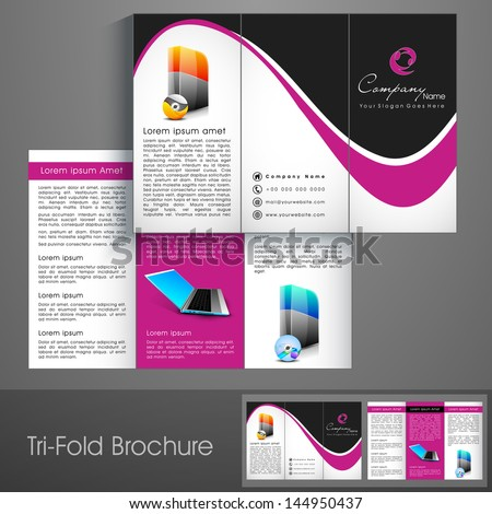 3fold Photos RoyaltyFree Images Vectors Shutterstock – Three Fold Flyer Template