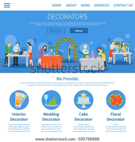 Party hall stock images royalty free images vectors for Professional decorator
