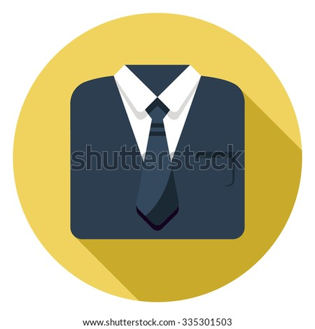Professional suit icon stock vector 335301503 shutterstock professional suit icon publicscrutiny Gallery