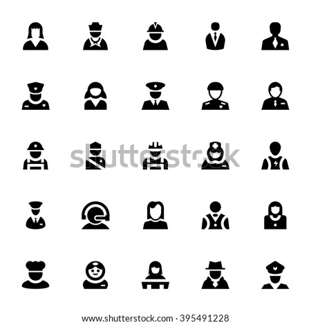 Professional Vector Icons 2 - stock vector