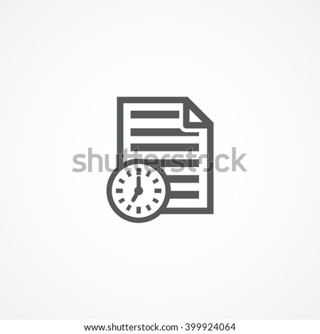 Project icon - stock vector