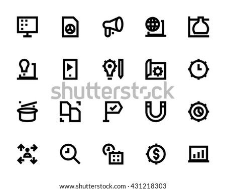 Project Management Vector Icons 5