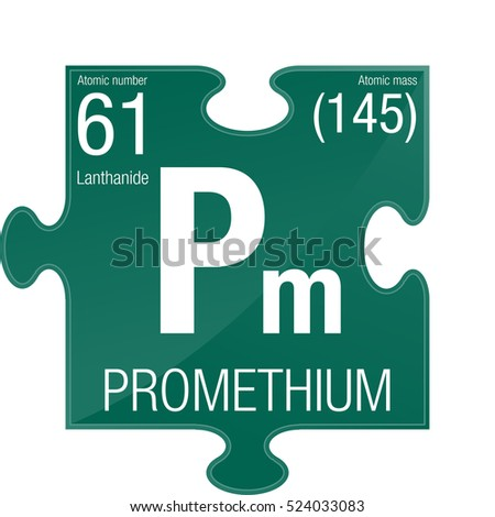 Promethium symbol element number 61 periodic stock vector hd promethium symbol element number 61 of the periodic table of the elements chemistry urtaz Gallery