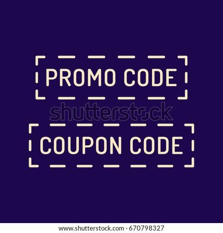 Promocode Stock Images RoyaltyFree Images Vectors Shutterstock