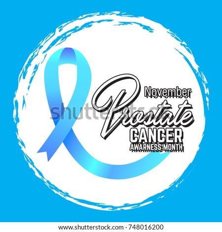 Prostate Cancer Awareness Symbol Vector Illustration Stock Vector Hd