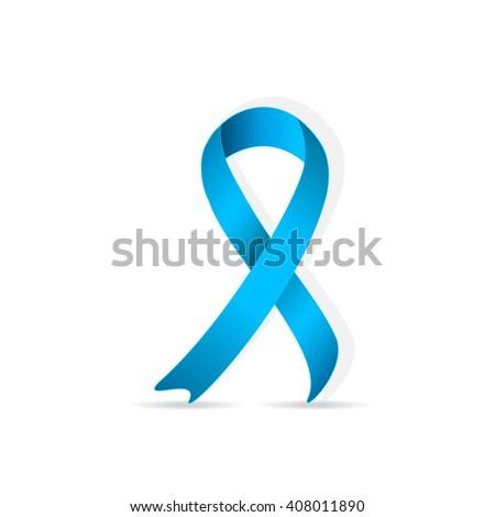 Prostate Cancer Ribbon Awareness Disease Symbol Stock Photo Photo