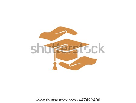 protection and security of Education web icon. vector design