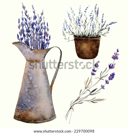 Provence, element, vector - stock vector
