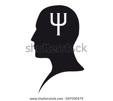 Psychology sign - stock vector