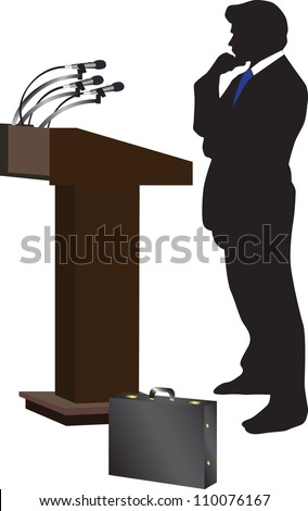 Public Speaking Vector