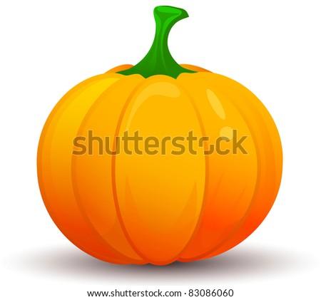 Pumpkin Vector - stock vector