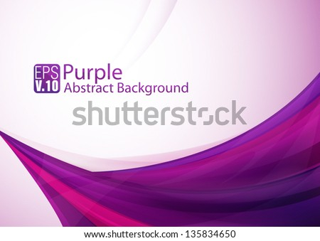 Purple abstract background - stock vector