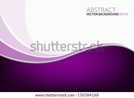 purple background vector dimension 3d graphic message board for text and message design frame line shadow for modern web design - stock vector