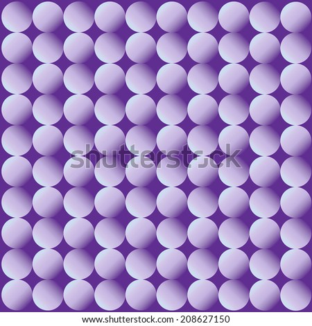 Purple Circles - Gradient - stock vector