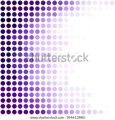 Purple Dots Background, Creative Design Templates - stock vector