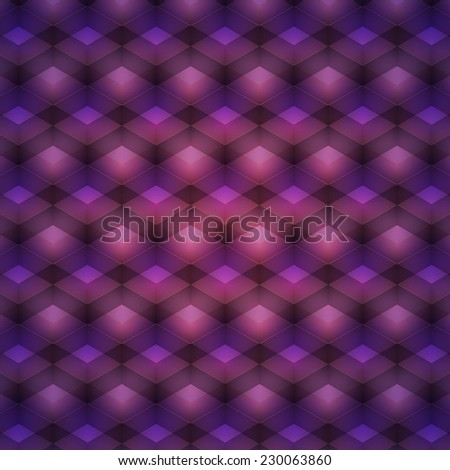 purple geometric pattern. abstract background for your creativity. Vector illustration - stock vector