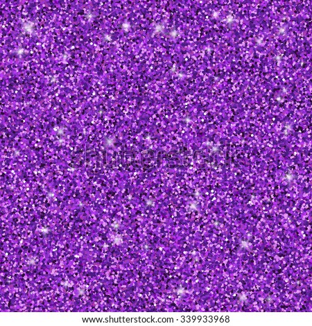 Purple glitter seamless pattern, vector texture