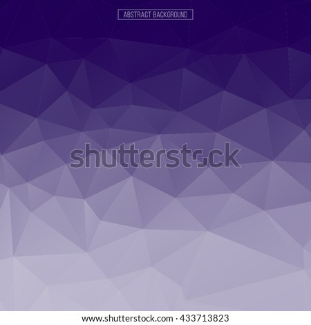 Purple Polygonal Abstract Background Design Element Polygon Wallpaper Business Card Invitation