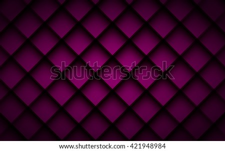 Purple square vector background box overlap layer angle with space shadow for text and message modern artwork design - stock vector