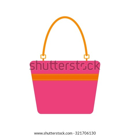 Purse, wallet, bag icon vector image. Can also be used for household objects. Suitable for use on web apps, mobile apps and print media.