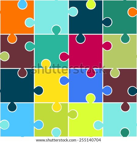 Jigsaw Vector Stock Photos, Images, & Pictures | Shutterstock